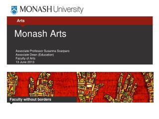 Monash Arts
