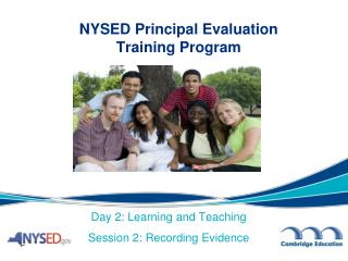 NYSED Principal Evaluation  Training Program