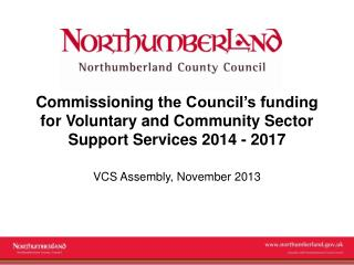 VCS Assembly, November 2013