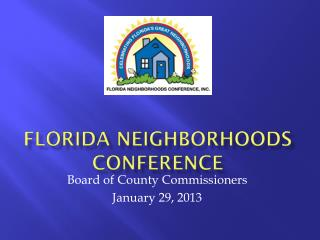 Florida Neighborhoods Conference