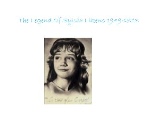 The Legend Of Sylvia Likens 1949-2013