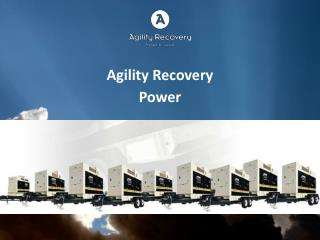 Agility  Recovery   Power