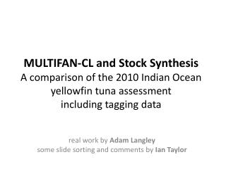 real work by  Adam  Langley some slide sorting and comments by  Ian  Taylor