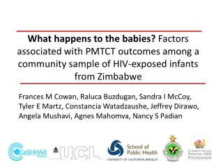 PMTCT in Zimbabwe