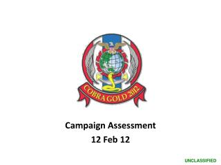 Campaign Assessment  12  Feb 12