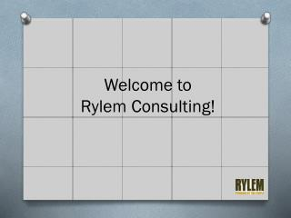 Welcome to  Rylem Consulting!