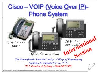 Cisco   VOIP Voice Over IP- Phone System