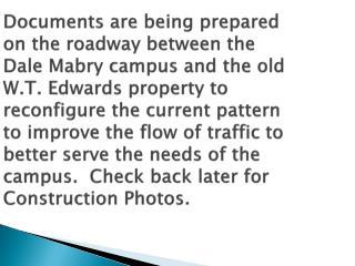 roadway reconfigure