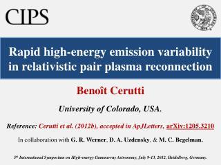 Rapid high-energy emission variability in relativistic pair plasma reconnection