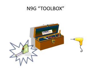 N9G �TOOLBOX�
