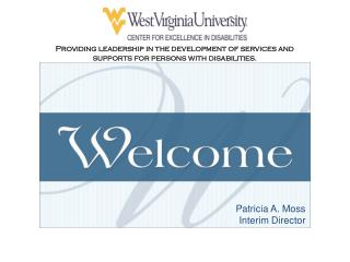 Providing leadership in the development of services and  supports for persons with disabilities.