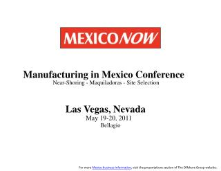 Mexico and Globalization of the Aerospace Industry