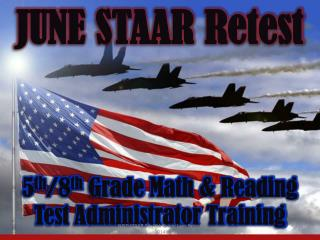 JUNE STAAR Retest