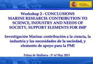 Palma de Mallorca - 3 rd  of May 2013