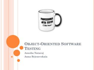 Object-Oriented Software Testing