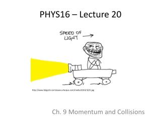 PHYS16 – Lecture 20