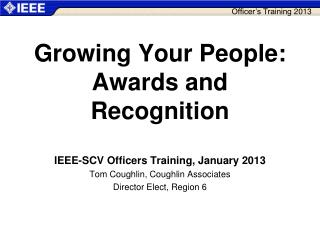 Growing Your People: Awards and Recognition