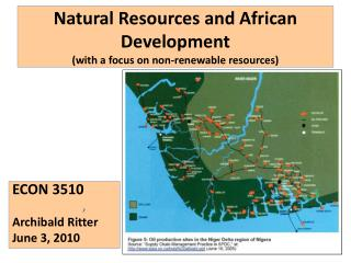 Natural Resources and African Development  with a focus on non-renewable resources