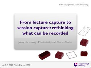 From lecture capture to session capture: rethinking what can be recorded