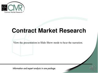 Contract Market Research