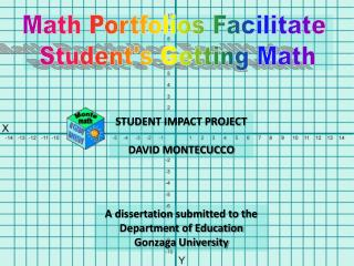 Math Portfolios Facilitate  Student's Getting Math