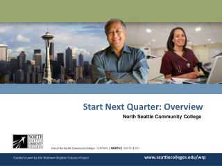Start Next  Quarter: Ov erview