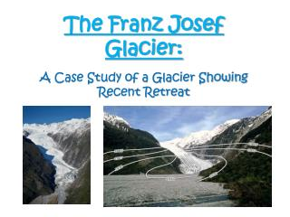 The Franz Josef Glacier: A Case Study of a Glacier Showing Recent Retreat