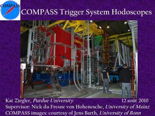 COMPASS Trigger System Hodoscopes
