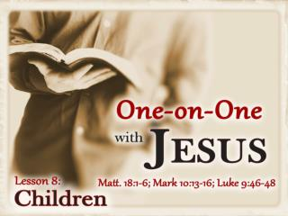 Jesus Fed Children (Matt. 14:21; 15:38) Jesus Inspired Children (Matt. 21:15)