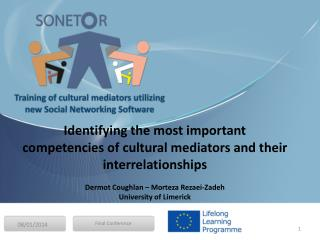 Identifying the most important competencies of cultural mediators and their  interrelationships
