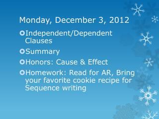 Monday, December 3, 2012