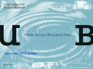 Open Access Research Data