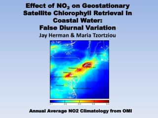 Effect of NO 2  on Geostationary Satellite Chlorophyll Retrieval In Coastal Water:
