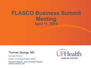 FLASCO Business Summit Meeting April 11, 2014