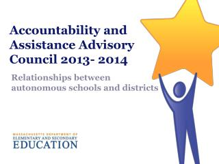 Accountability and Assistance Advisory Council 2013- 2014