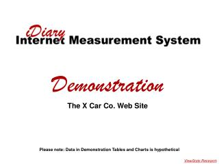 X Car Demonstration
