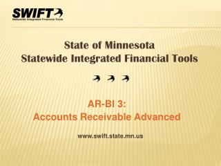 AR-BI 3:  Accounts Receivable Advanced