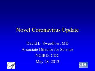 Novel Coronavirus Update