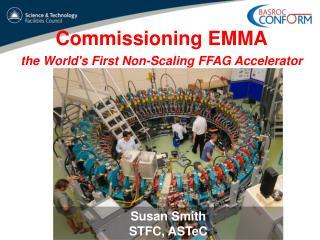 Commissioning EMMA