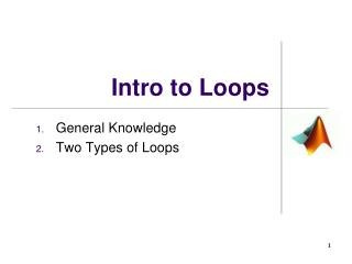Intro to Loops