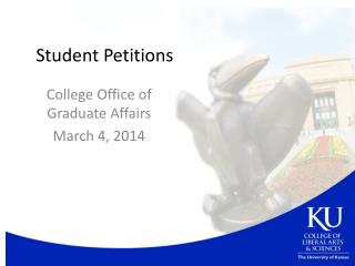 Student Petitions