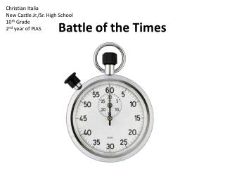 Battle of the Times