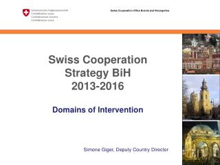 Swiss Cooperation Strategy BiH  2013-2016