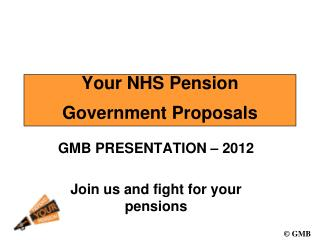 Your NHS Pension  Government Proposals