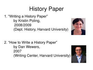 History Paper