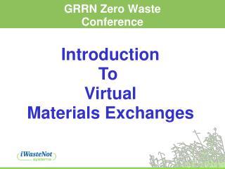 GRRN Zero Waste Conference