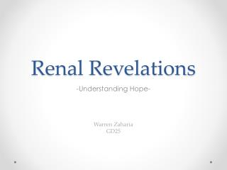 Renal Revelations