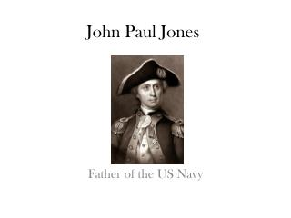 Father of the US Navy