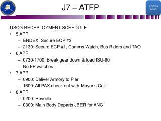 J7 � ATFP