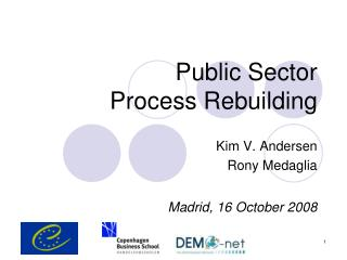 Public Sector Process Rebuilding